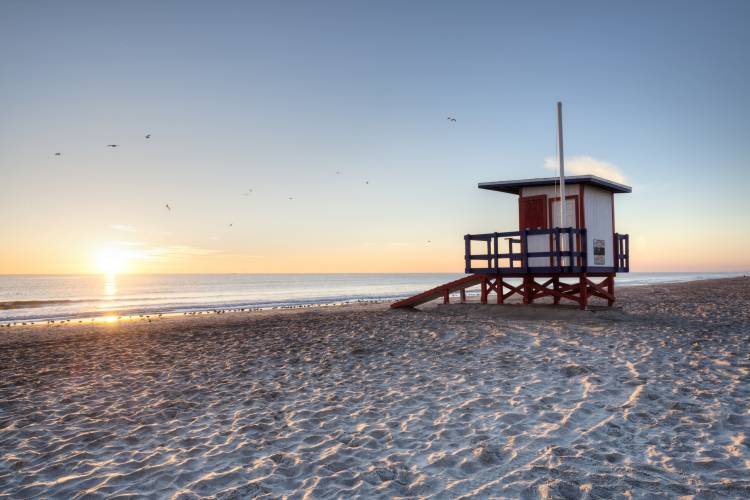 Cocoa Beach Lifeguard Tower