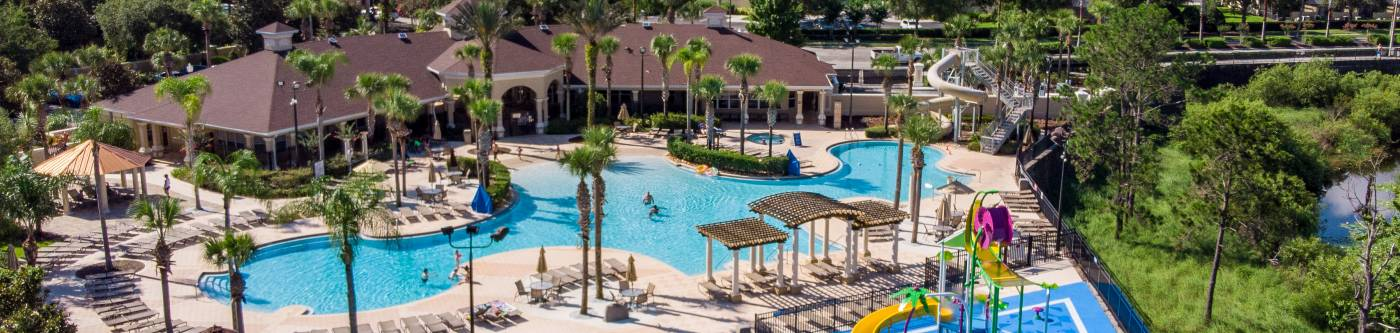 Resort-style amenities at Windsor Hills